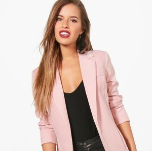 One by Chapter One Light Pink Blazer Jacket